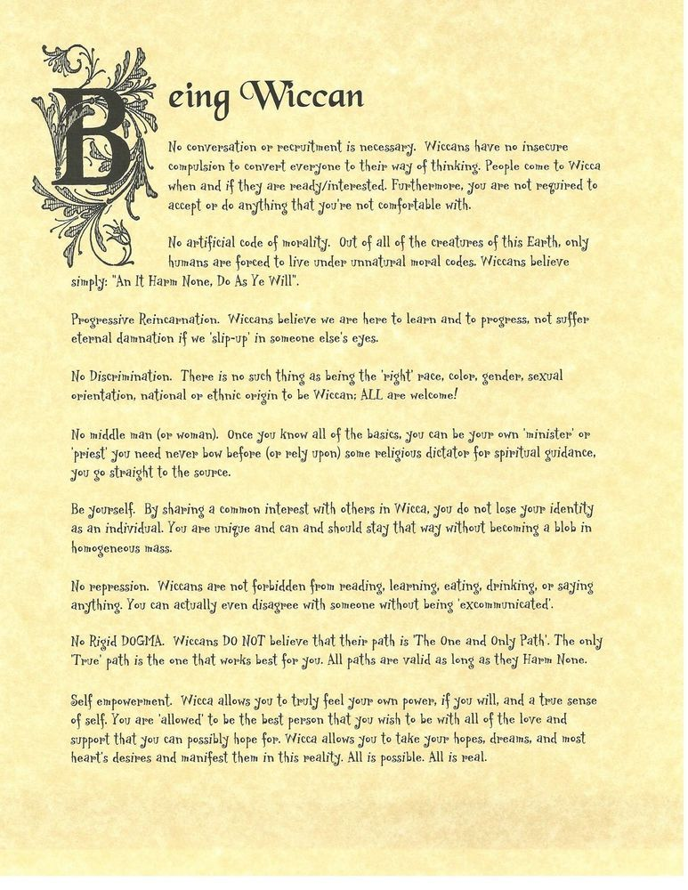Details about Book of Shadows Spell Pages ** Being Wiccan ** Wicca