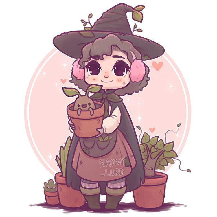 Professor Pomona Sprout To Go With My Teacher Series