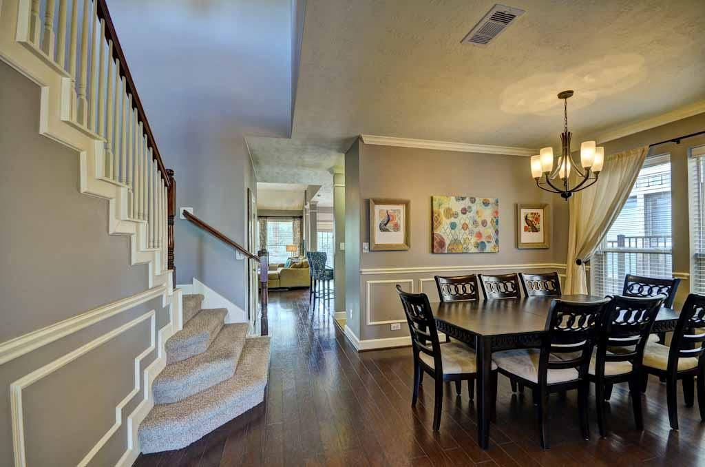 See Dining Room As Enter House