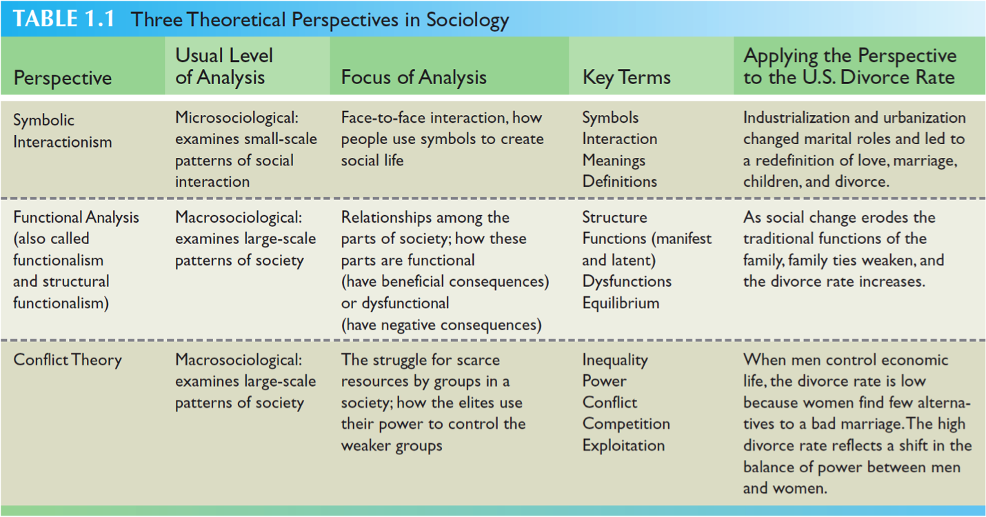 conflict theory essay sociology Functionalism and conflict theory are two major sociological approaches used for analyzing the society at the macro level these theories hold different and often contrasting views, which, however, complement each other in the process of studying the society.