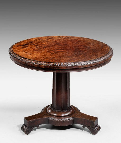 Early 19th Century Mahogany Centre Table (Ref No. 7047) c. 1825 - Windsor House Antiques