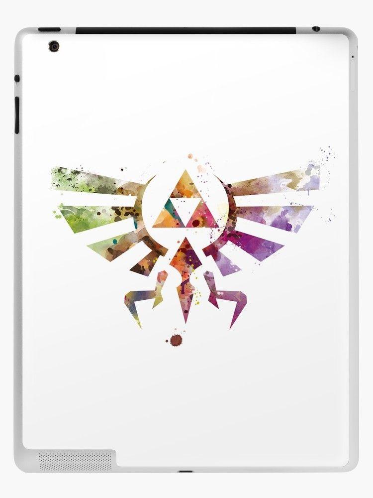 Zelda iPad Case & Skin (With images) Ipad skin, Map