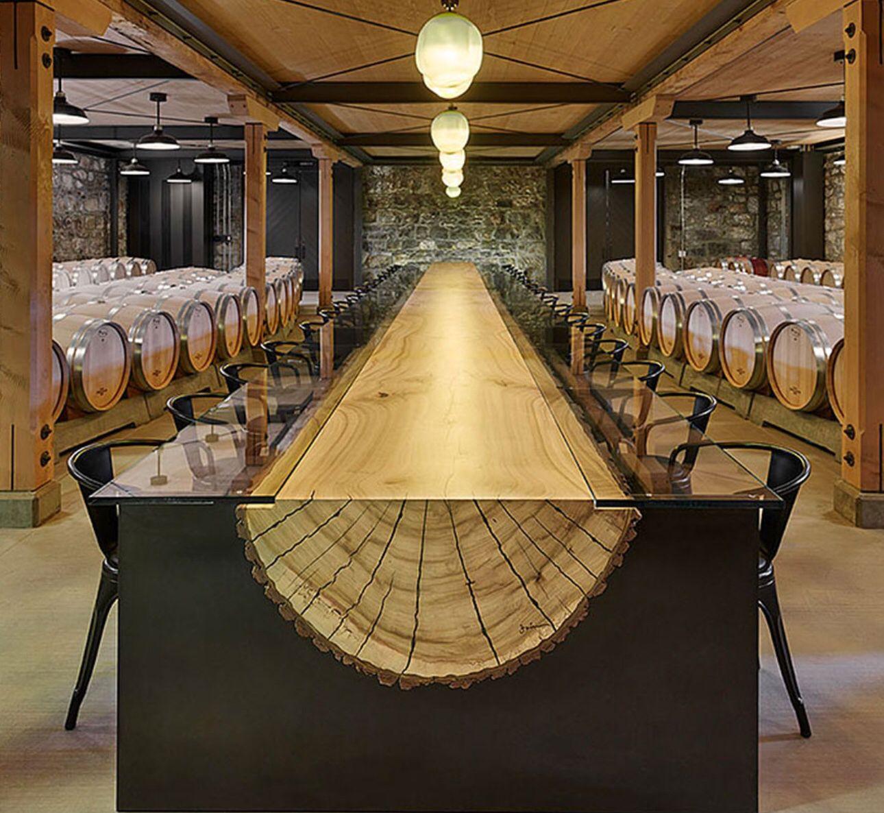 Love this log table decorating furniture unique desks for Mobilia kitchen table