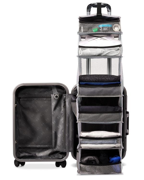 The CarryOn Closet 2.0 Suitcase, Carry on suitcase