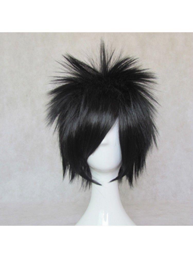 Uchiha Sasuke Black Short 35cm Cosplay Wigs Hair Style Short Anti Alice Type Role Kid The Phantom Thief Mater Wig Hairstyles Cosplay Hair Cosplay Wigs