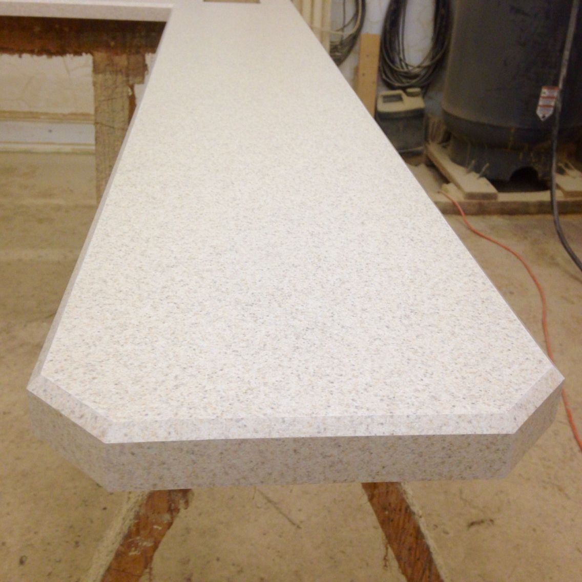 2x2 Clipped Corners Yes This Is A Laminate Countertop Mystique