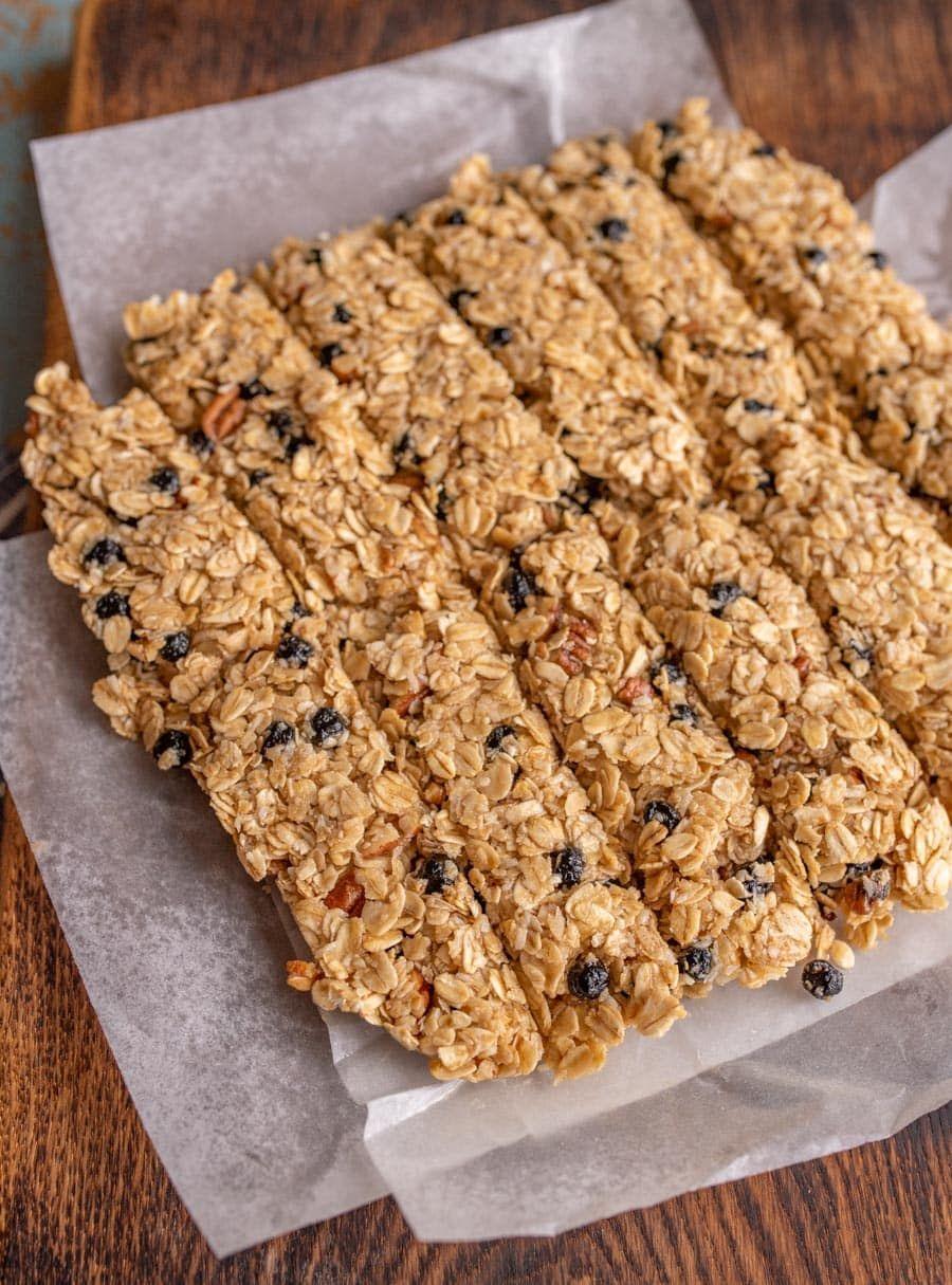 My Favorite Blueberry Pecan Granola Bar | Recipe ...