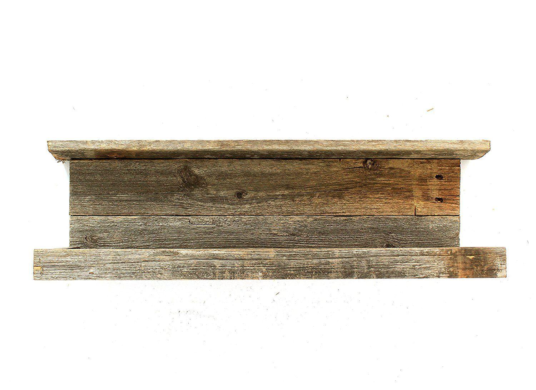 Rustic Floating Shelf