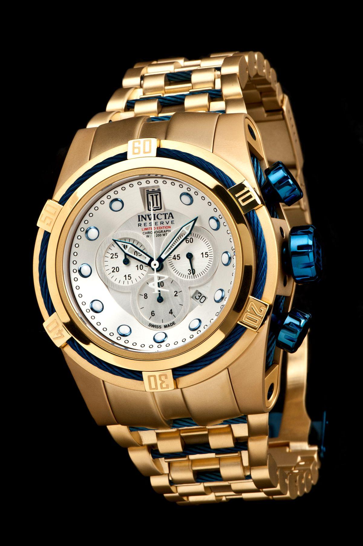 9a62de30aaf Um relógio perfeito com um design destruidor de corações. Fica a dica tá  chegando 13 de março...  invicta  watch  bolt  zeus  bdaygift