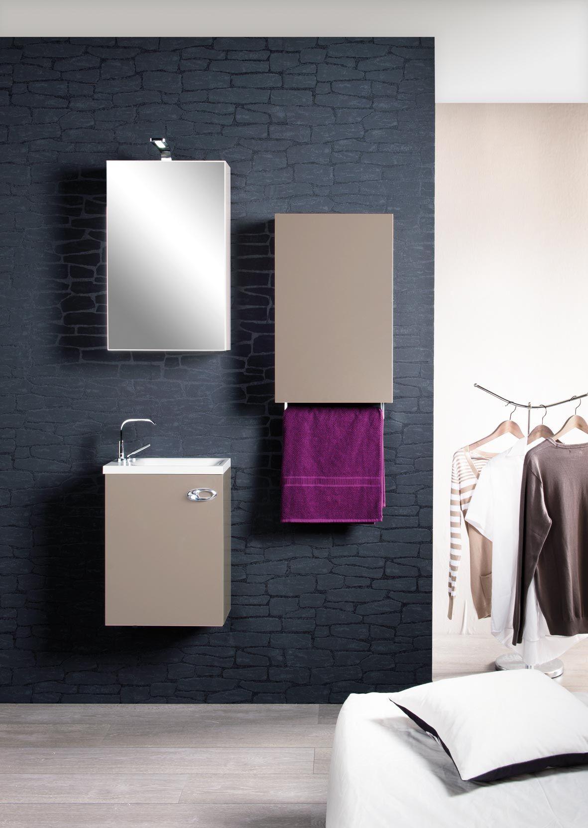 Meuble de salle de bain cedam gamme l a le lave main for Cedam salle de bain