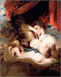 Sir Joshua Reynolds - Cupid löst den Gürtel der Venus