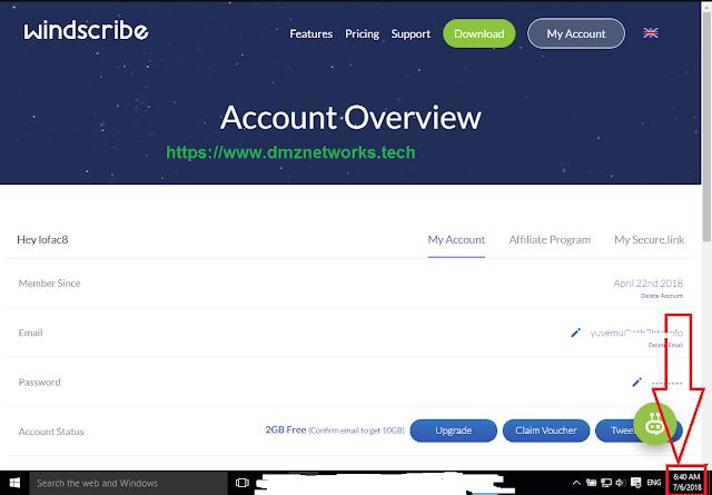 Windscribe Lifetime Account Sharing | Windscribe Username