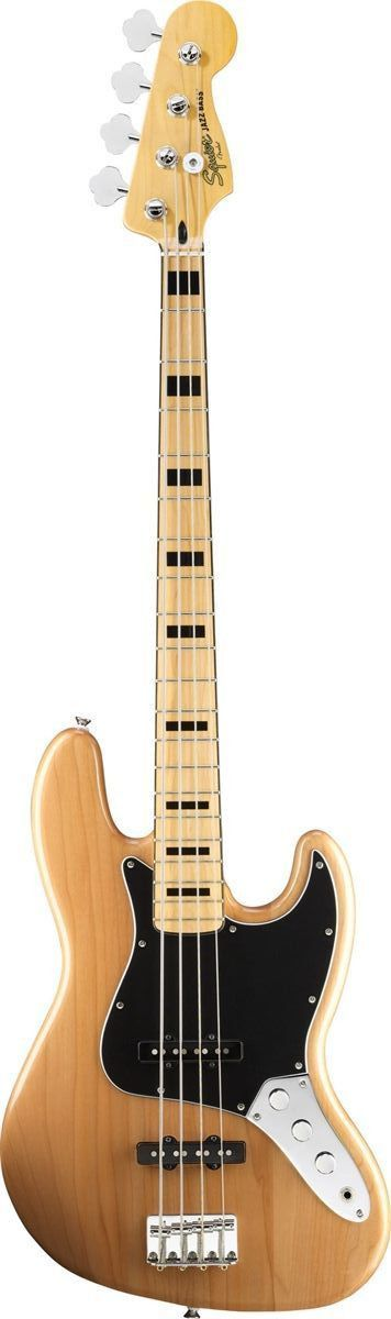 Squier S Vintage Modified Jazz Bass 70s Returns You To A Great Period In Jazz Bass History With Dual Fe Fender Squier Bass Guitar Learn Bass Guitar
