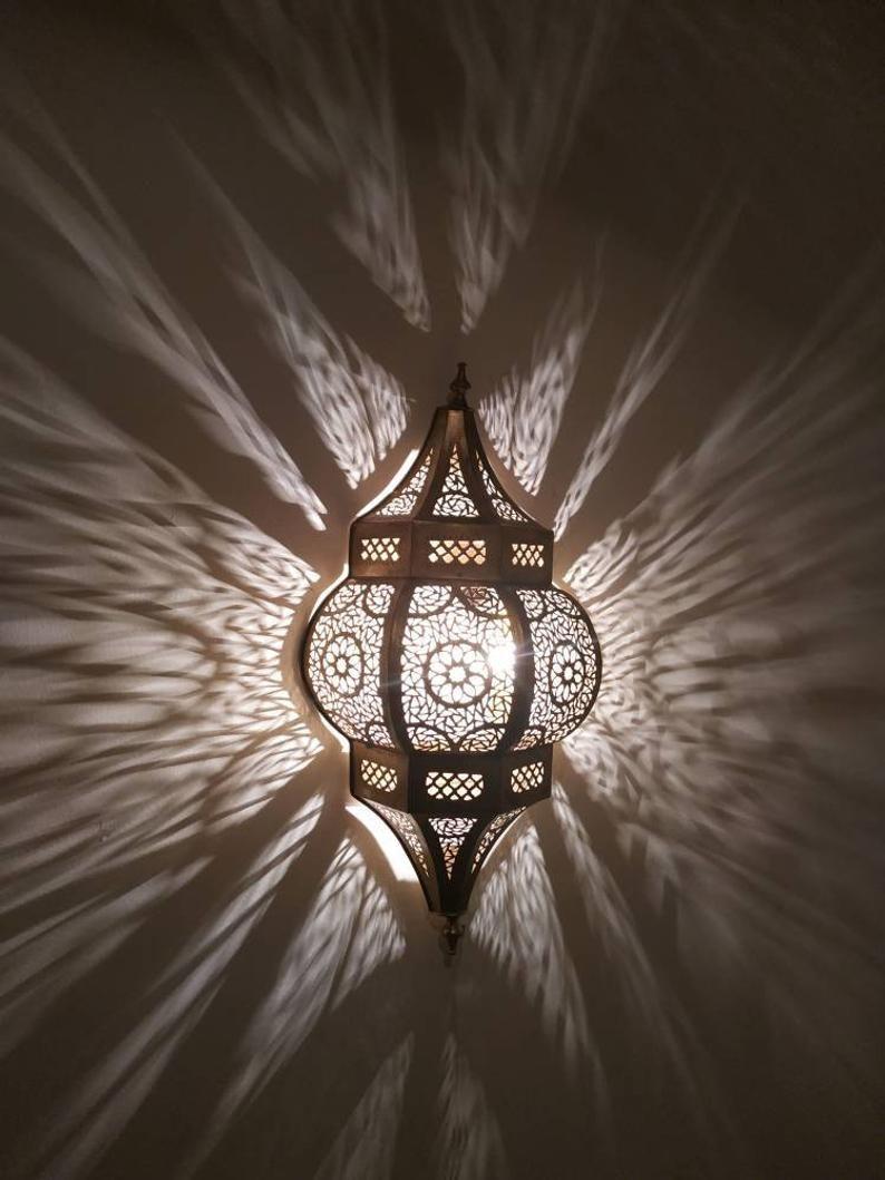 Moroccan Wall Light Wall Lamp Shades Moroccan Brass Wall Lights