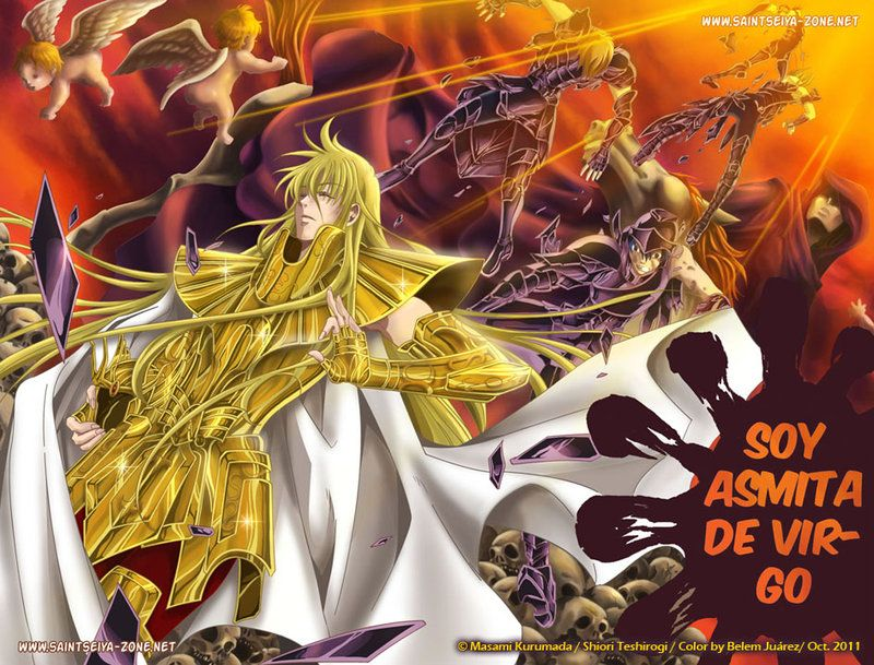Another Vector Colour Work Based On Saint Seiya Lost Canvas This Time One Of The Kyoto Garuda No Aiacos Otro Saint Seiya Art Canvas