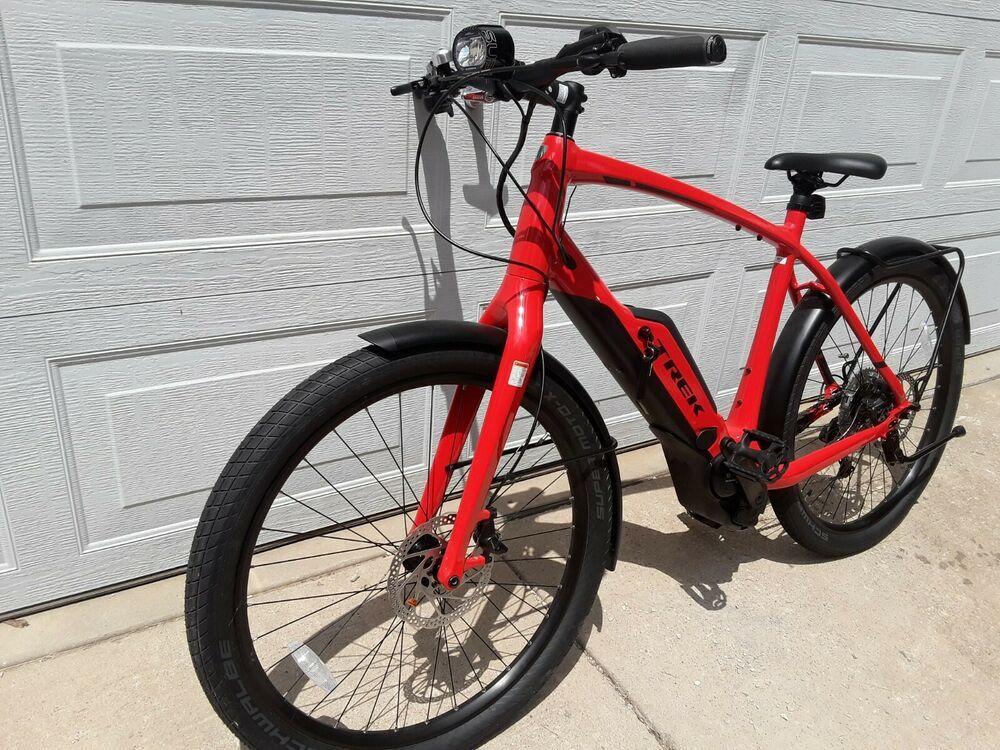 Trek Super Commuter 8s Electric Pedal Assist Bike Size 60 Mint Condition Trek Trek Bicycle Bike Toddler Bike Helmet