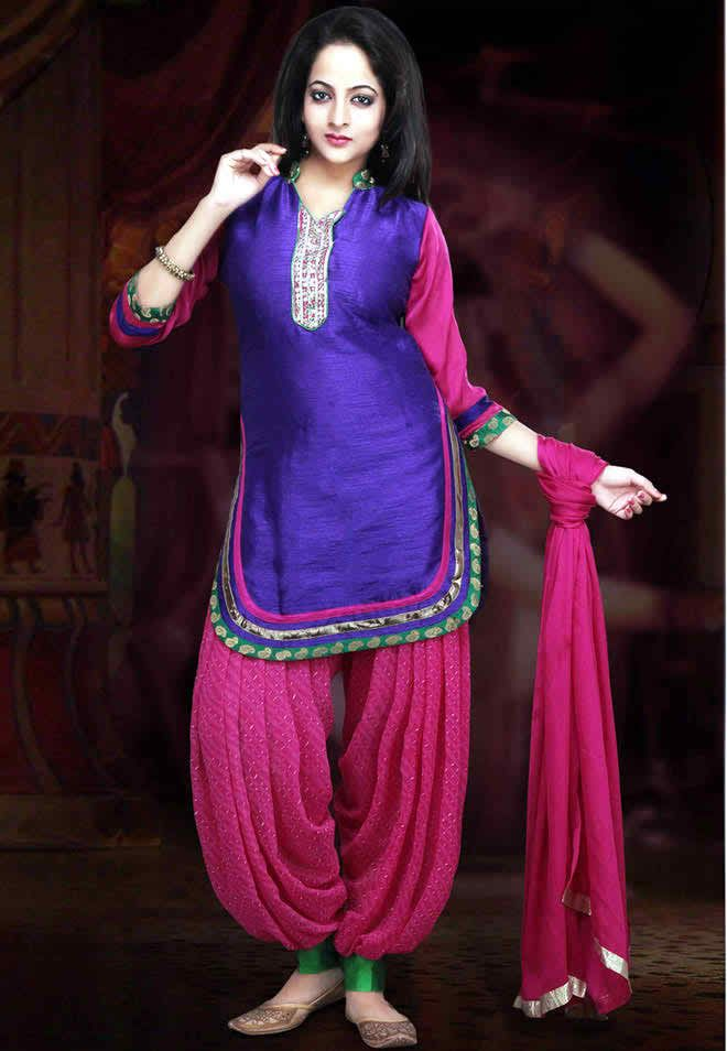 Old Patiala Shalwar Trend In New Look Indian Dresses Online Indian Dresses Fashion