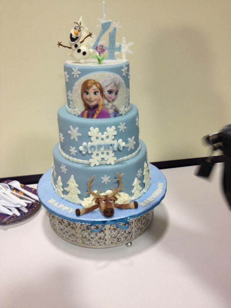 Disney Frozen Cakes At Walmart Sophia S 4th Birthday