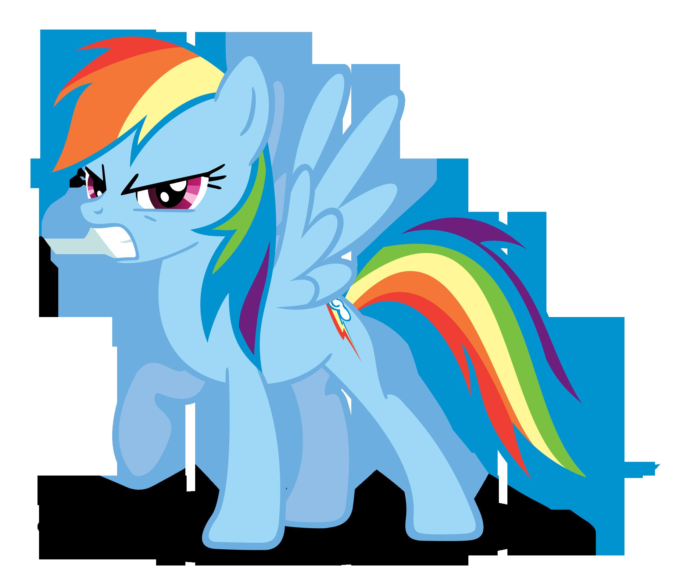 Rainbow Dash Getting Angry Rainbow Dash My Little Pony Friendship Rainbow