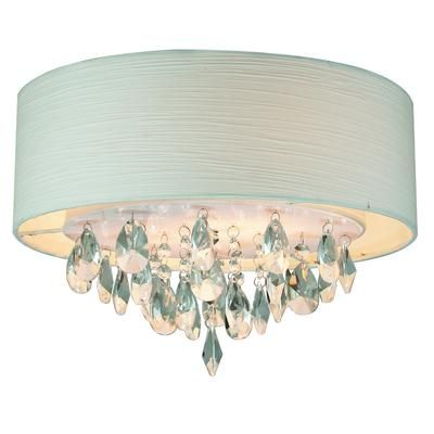GEN LITE Rossini Ceiling Fixture Pendant With White Shade And
