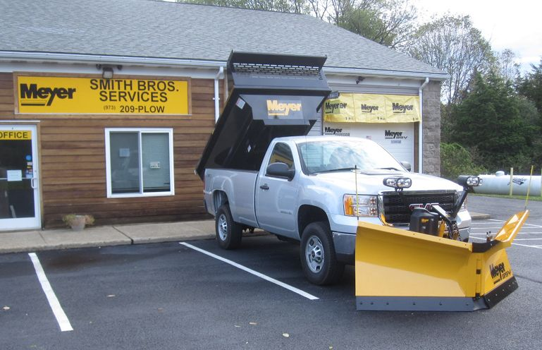 2012 Gmc 2500 Gas Meyer Super V2 8 5 Meyer Payload Dump Insert Old Shop Front Snow Plow Plow Truck Gmc 2500