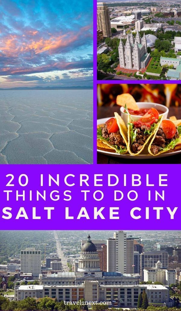 20 Things To Do In Salt Lake City Travel Travel Usa Salt Lake City