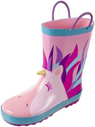 Unicorn Printed Waterproof Rain Boots