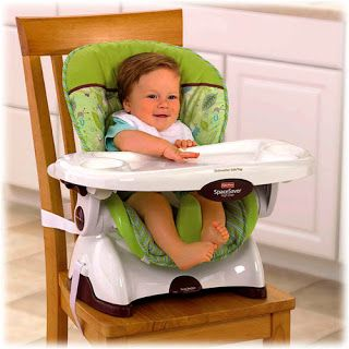 Life on Manitoulin - Love this Fisher-Price Space Saver High Chair.