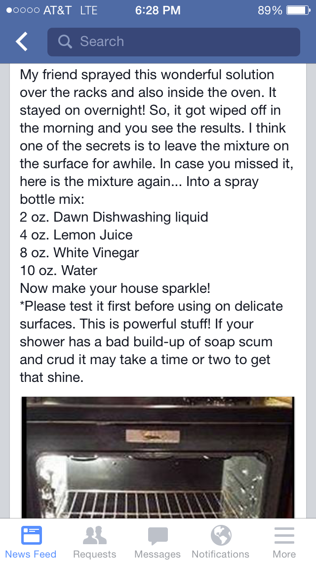 Pin by April Swiney on DIY Cleaners Natural oven