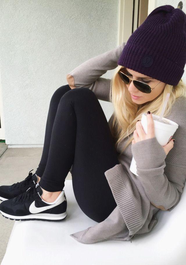 Weekend Lululemon Wrap Sweater Beanie My Cold Weather Uniform