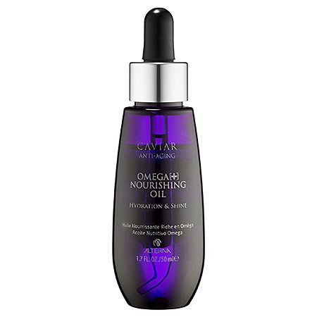 Hidrata tu cabello a profundidad - CAVIAR Anti-Aging® Omega+ Nourishing Hair Oil - Alterna.
