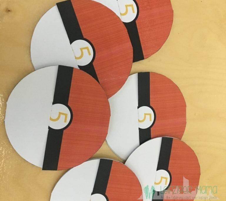 pokemon kindergeburtstagsparty teil 1 - einladungskarten