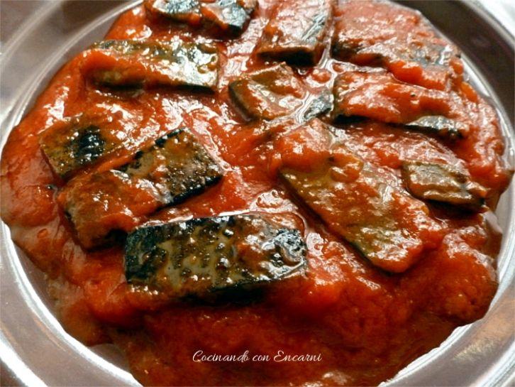 Sangre Frita Con Tomate Recetas De Comida Comida Comida étnica