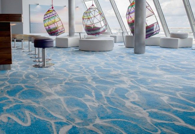 Desso Custom Made Axminster Carpet At Mein Schiff ӏӏ Tui Cruises Marine