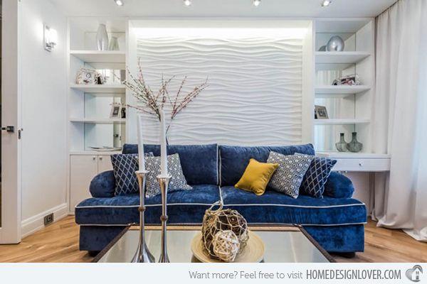 15 Interior Textured Wall Designs | Home Design Lover