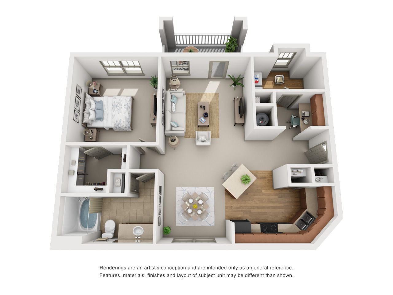 Luxury 1 2 3 Bedroom Apartments In Atlanta Ga Layouts Apartment Layout Contemporary Apartment Apartment Blueprints