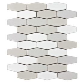 Elida Ceramica Urban Lifestyle Hex Mosaic Ceramic Wall Tile Common 12 In X Actual 75 10 5