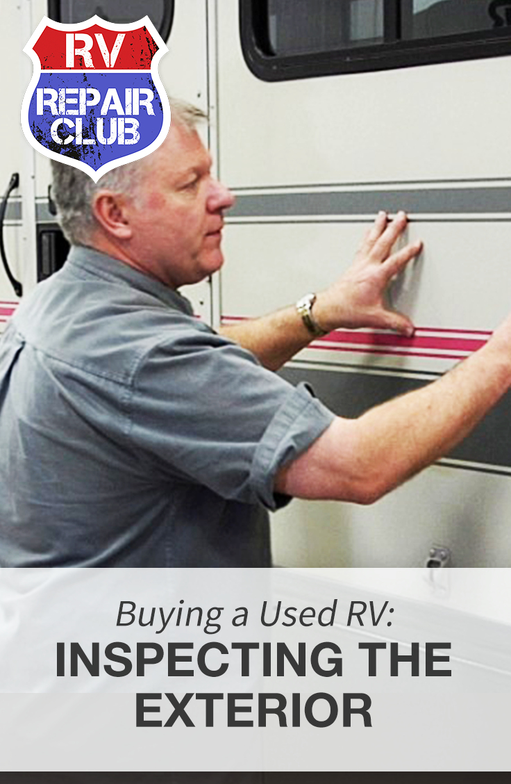 There are many things you need to check before buying a used RV, including the sidewalls of the unit. To properly inspect the sidewalls of a used RV, it is best to slowly walk around the exterior of the unit looking for any visible damage.