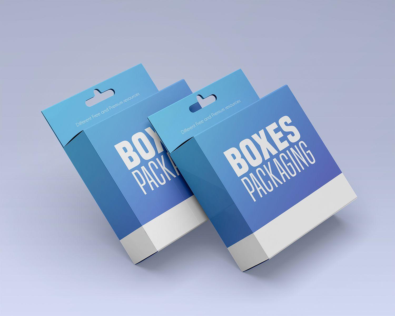 Download Free Box Packaging Psd Mockup Set Free Boxes Box Packaging Design Box Packaging Templates