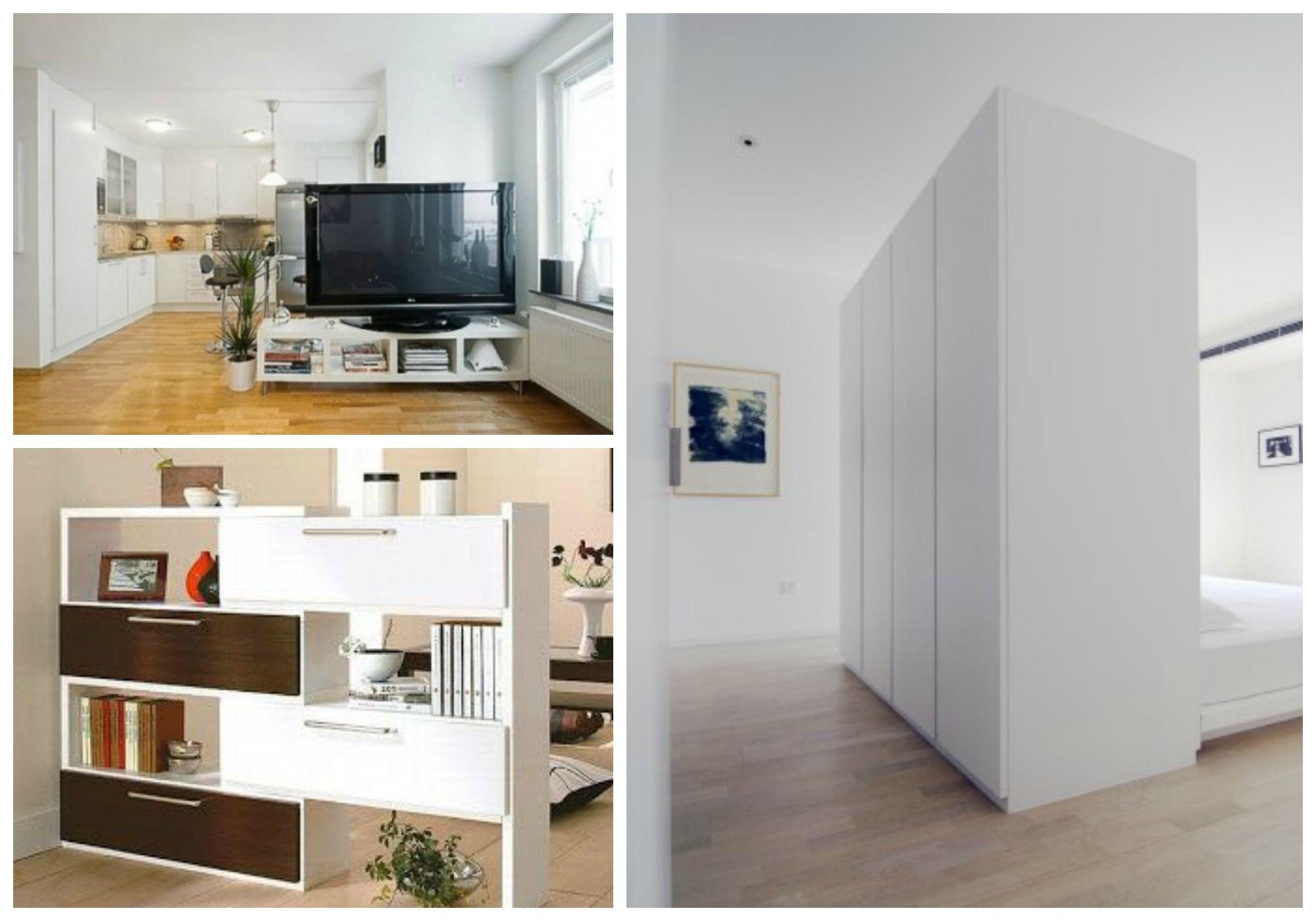 Separar ambientes sin paredes - Muebles a la carta | interiores ...