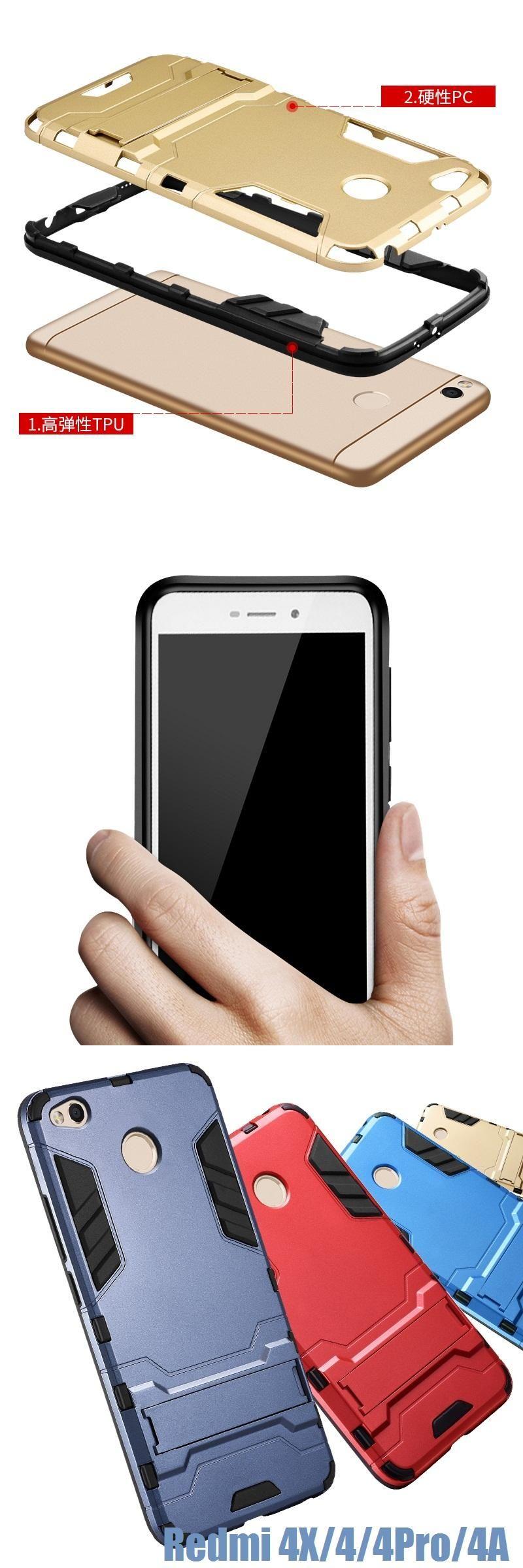 Case for Xiaomi Redmi 4 pro Cover Case Redmi 4 prime Armor Luxury Fashion Matte Phone
