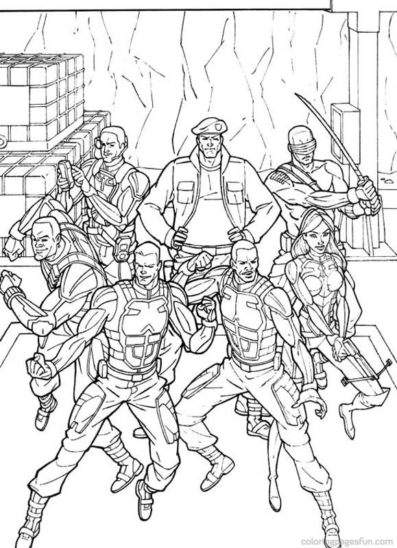 g i joe coloring pages G.I. Joe Coloring Pages 39 | books | Pinterest | Coloring pages  g i joe coloring pages