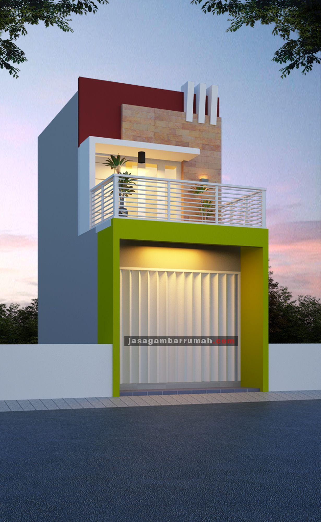 Rumah Plus Toko Minimalis Cek Bahan Bangunan