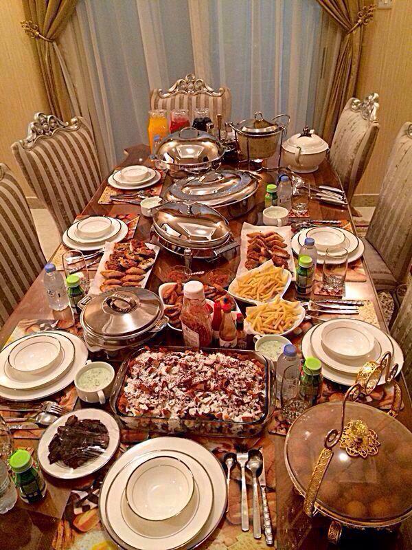 Ramadan Table Setting Ramadan Everything Pinterest