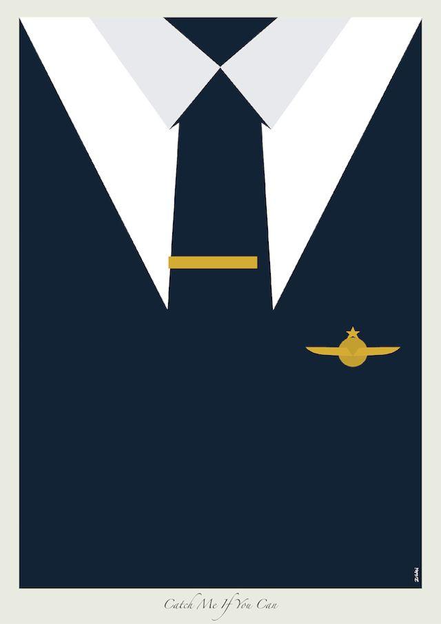 Leonardo DiCaprio Suit minimaslist poster 01 http://cinemablabla.wordpress.com/2014/09/22/leonardo-dicaprio-suits-in-minimalist-posters-2/
