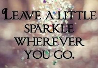 Leave a trail.....