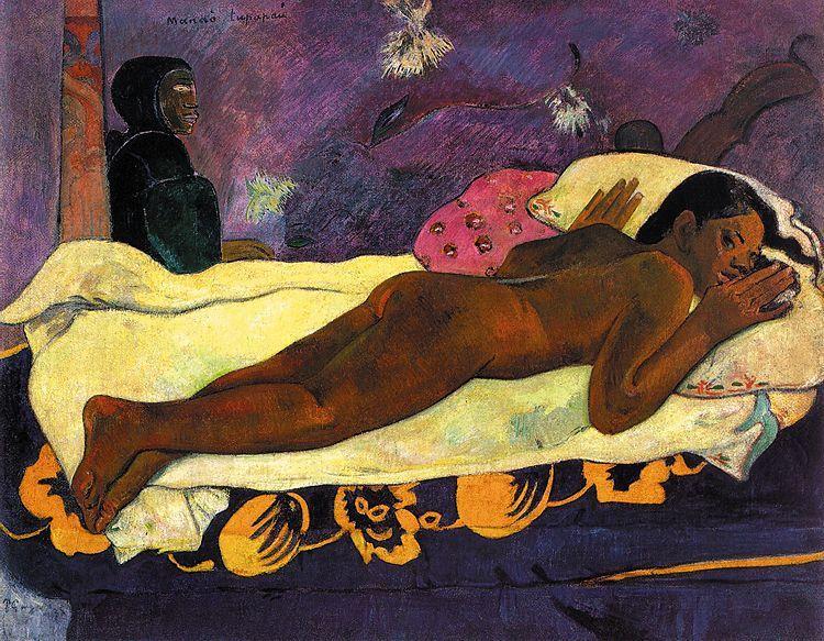 Gauguien, Manao Tupapao, 1892