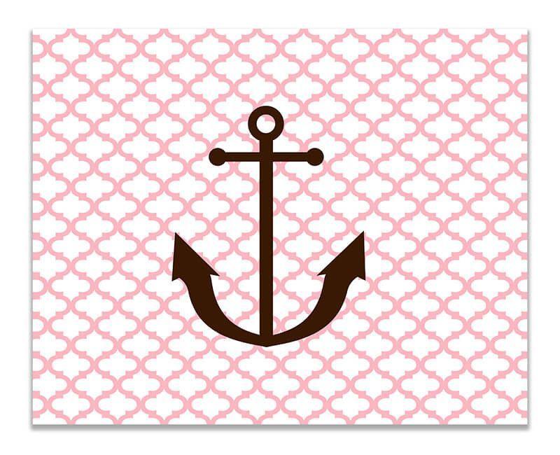 Anchor Children's Print Wall Art