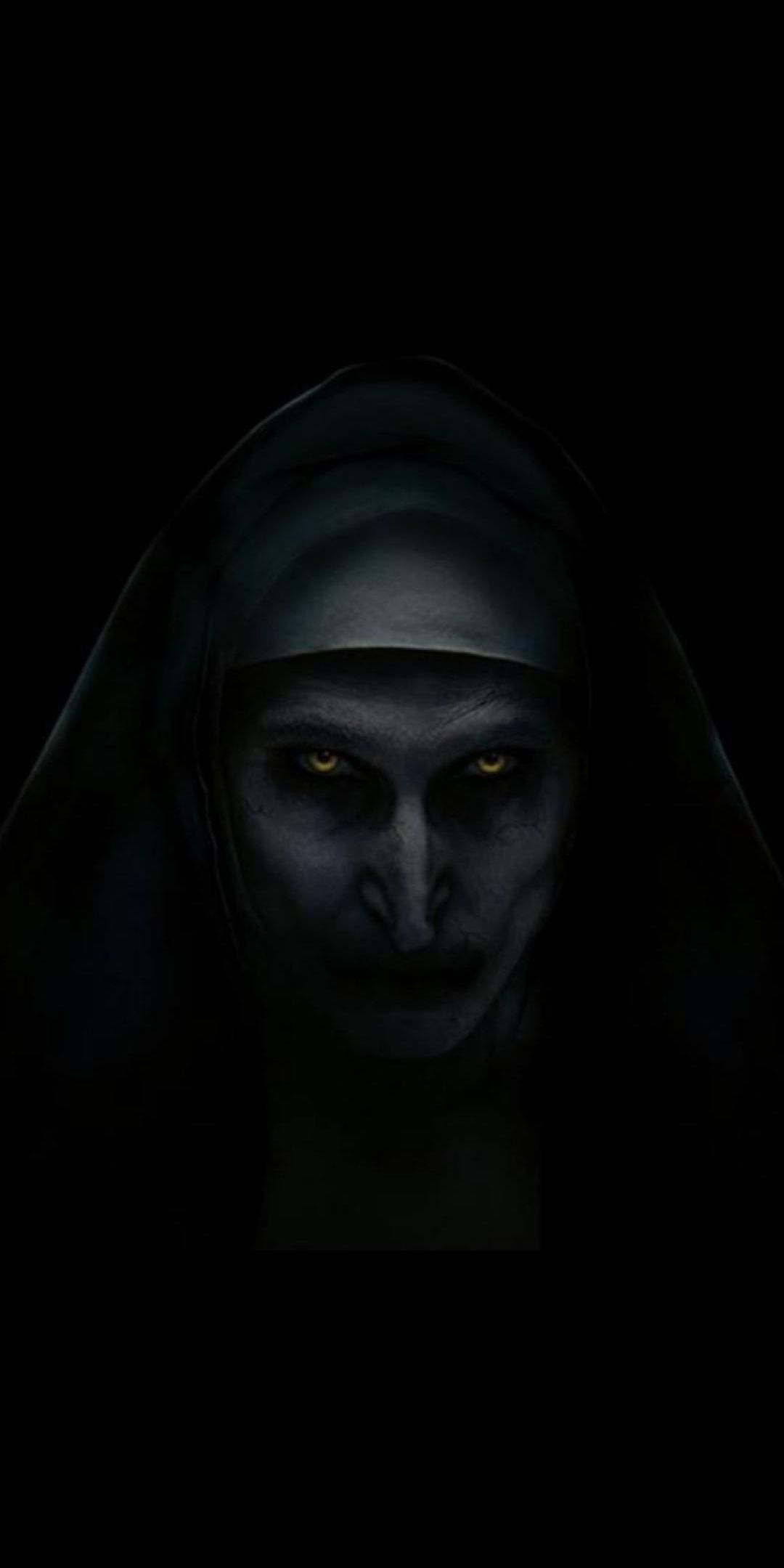 Nun Movie Horror iPhone Wallpaper Scary wallpaper