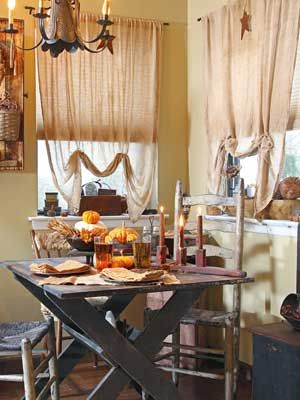 Take inexpensive cheesecloth and turn it into picture-perfect window treatments throughout your home.